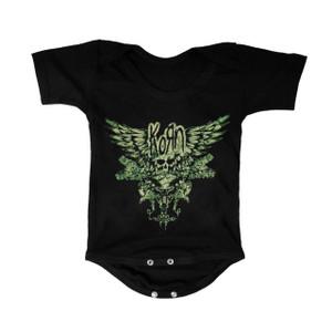 Baby Onesie - Korn Winged Skull Logo