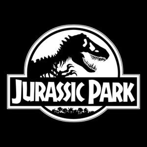 "Jurassic Park Logo 3.5x3.5"" Printed Sticker"