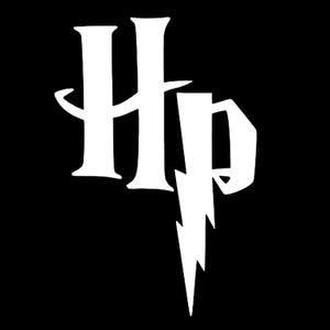 "Harry Potter HP Logo 3.5x3.5"" Printed Sticker"