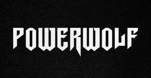 "Powerwolf Logo 5x3"" Printed Patch"