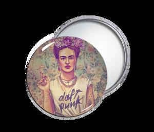 Frida Khalo Round Pocket Mirror