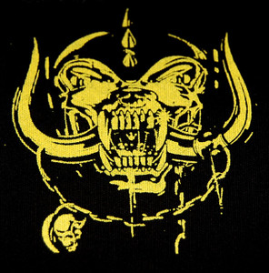 "Motorhead - Yellow Warthog 5x4"" Printed Patch"