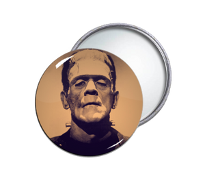 Frankenstein Round Pocket Mirror