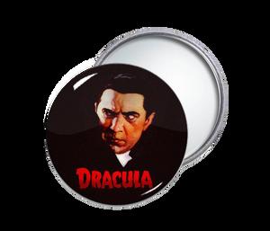 Dracula Round Pocket Mirror