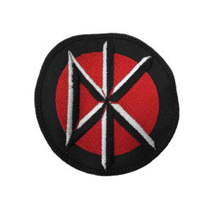 """Dead Kennedy's Logo 3x3"""" Embroidered Patch"""