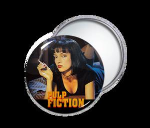 Pulp Fiction Round Pocket Mirror