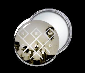 New Order - Logo Round Pocket Mirror