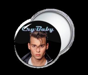Cry Baby Round Pocket Mirror