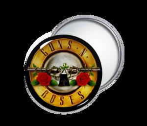 Guns N Roses Round Pocket Mirror