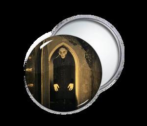 Nosferatu Round Pocket Mirror