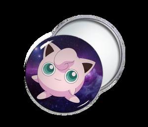 Jigglypuff Round Pocket Mirror
