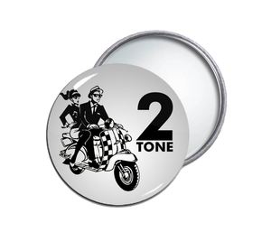 2 Tone - Rudies Round Pocket Mirror