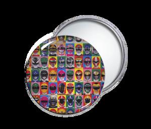Power Rangers Round Pocket Mirror