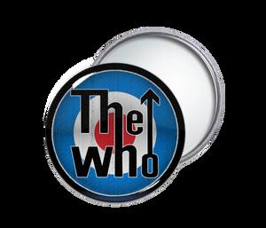 The Who - Logo Round Pocket Mirror