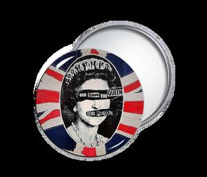 Sex Pistols - God Save The Queen Round Pocket Mirror