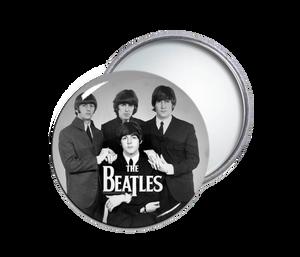 The Beatles Round Pocket Mirror