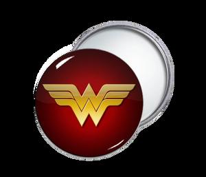 Wonder Woman Round Pocket Mirror