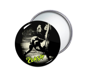 The Clash - London Calling Round Pocket Mirror