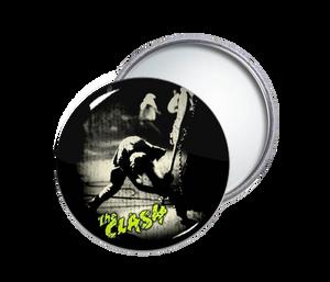 The Clash - London Calling Round Pocket Mirror