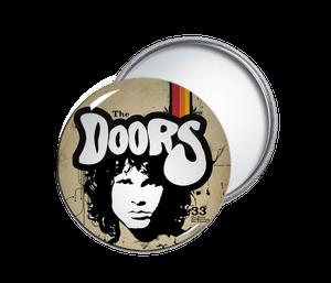 The Doors - Jim Morrison Face Round Pocket Mirror