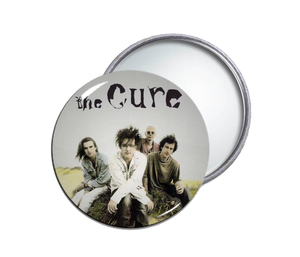 The Cure - Pic Round Pocket Mirror
