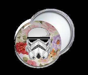 Storm Trooper Round Pocket Mirror