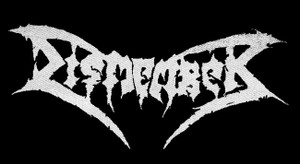 "Dismember - Logo 6x3"" Printed Patch"