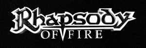 "Rhapsody Of Fire - 7x3"" Printed Patch"