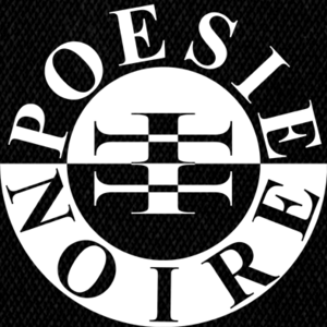 "Poesie Noire - Logo 5x5"" Printed Patch"