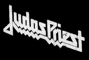 "Judas Priest - Logo 6x4"" Printed Patch"