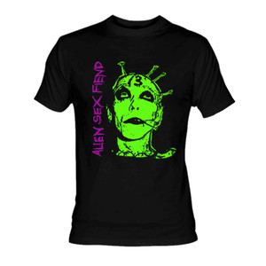Alien Sex Fiend - Face T-Shirt