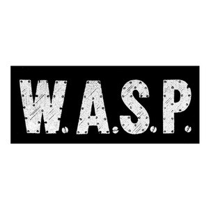 "W.A.S.P. - Logo 6x3"" Printed Patch"