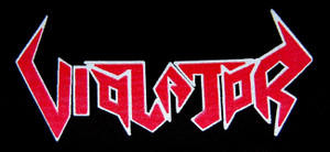 "Violator - Logo 7x4"" Printed Patch"