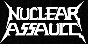 "Nuclear Assault - Logo 7x4"" Printed Patch"