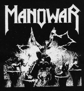 "Manowar - Triumph of Steel 5x5"" Printed Patch"