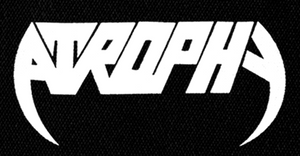 "Atrophy - Logo 7x4"" Printed Patch"