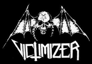 "Victimizer - Bat Skull 5x4"" Printed Patch"