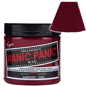 Manic Panic Vampire® Red - High Voltage® Classic Cream Formula Hair Color