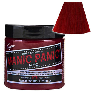 Manic Panic Rock 'N' Roll® Red - High Voltage® Classic Cream Formula Hair Color