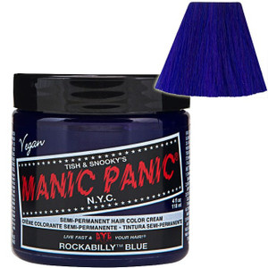 Manic Panic Rockabilly® Blue - High Voltage® Classic Cream Formula Hair Color
