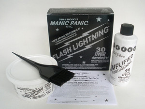 Manic Panic Flash Lightning Bleach Kit 30 Punk Rock Goth Metal
