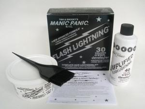 Manic Panic Flash Lightning Bleach Kit 30 Punk Rock Goth Metal