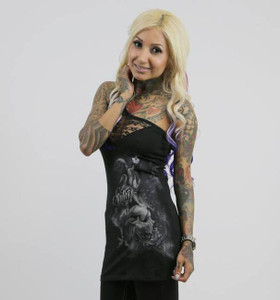 Sullen Clothing - Solo Shoulder Lace Top