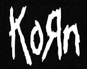"Korn - Logo 5x5"" Printed Patch"