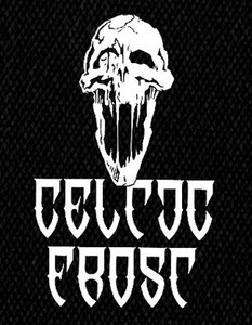 "Celtic Frost - Skull 4x6"" Printed Patch"