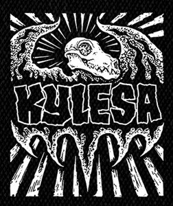 "Kylesa - Dinosaur 5x5"" Printed Patch"