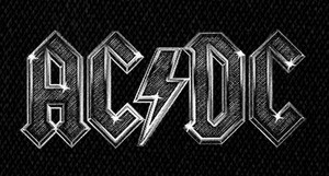 "AC/DC - Logo 6x4"" Printed Patch"