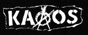 "Kaaos - Logo 6x4"" Printed Patch"