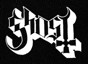 "Ghost - Logo 6x5"" Printed Patch"