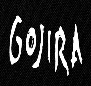 "Gojira - Logo 5x5"" Printed Patch"
